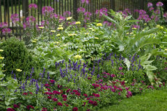 härlig trädgård Arkivfoton