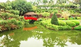 härlig trädgårds- japan Royaltyfria Foton