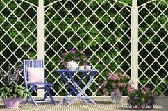 Härlig trädgårds- sammansättning Royaltyfria Bilder