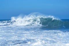 Härlig tropisk oceanisk bakgrund Royaltyfri Fotografi
