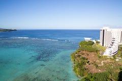 Härlig Tumon fjärd i Guam Royaltyfria Foton