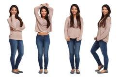 Härlig ung asiatic flicka arkivbilder
