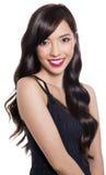 Härlig ung asiatisk kvinna Arkivfoton