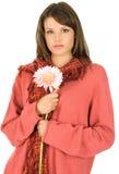 Härlig ung brunett Royaltyfria Bilder