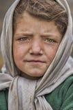 Härlig ung flicka från Shimshal Hunza royaltyfria foton