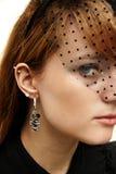 Härlig ung kvinna Royaltyfria Bilder