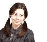 Härlig ung kvinna Fotografering för Bildbyråer