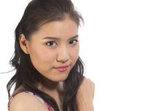 Asiatisk teen flicka Royaltyfria Foton