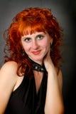 Härlig ung rödhårig flicka Royaltyfria Bilder