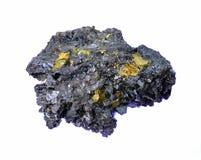 Härlig unik kristall av sphalerite Royaltyfria Foton