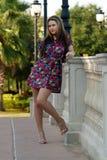 härlig utomhus teen flicka 8 Royaltyfria Bilder
