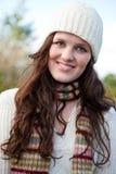 härlig utomhus- tonåring Royaltyfri Foto