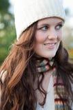 härlig utomhus- tonåring Royaltyfria Foton