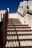 härlig utomhus- trappuppgång Royaltyfri Bild