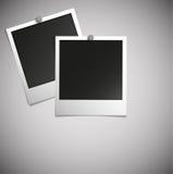 härlig vektor för illustrationfotopolaroid Royaltyfri Foto