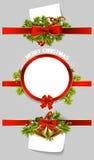 härlig vektor för juldesignillustration Royaltyfri Foto