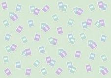 Härlig vektorbakgrund för en vykort för dag för ferielärare` s stock illustrationer