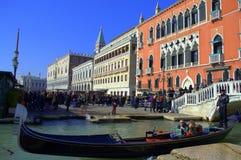 Härlig Venedig sikt Arkivfoton