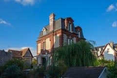 Härlig villa i Deauville Arkivfoton
