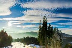 Härlig vinter Royaltyfri Foto