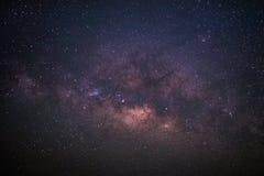 Härlig Vintergatan royaltyfria foton