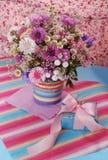 Härlig violett bukett Royaltyfria Bilder