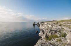 Härlig waterscape i Bulgarien Fotografering för Bildbyråer