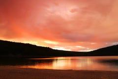 Härlig Wisconsin naturbakgrund arkivbild