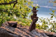 Härlig Wisconsin naturbakgrund fotografering för bildbyråer
