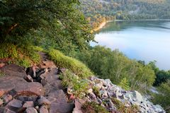 Härlig Wisconsin naturbakgrund royaltyfria foton