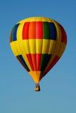 härlig yellow för ballong Arkivbild