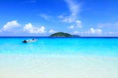 Härliga öar Fotografering för Bildbyråer