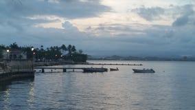 Härliga öar, himlar, hav Arkivbilder