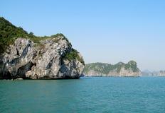 Härliga öar i havet arkivfoto