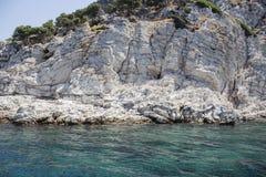 Härliga öar och berg Royaltyfria Bilder