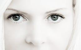 härliga ögon royaltyfri fotografi