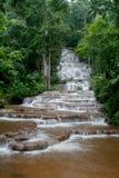 härliga 2 pacharuen vattenfallet Royaltyfria Bilder