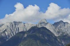 Härliga bakgrunder av naturliga landskap Royaltyfria Bilder