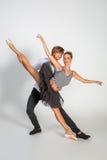 Härliga balettpar Fotografering för Bildbyråer