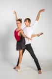 Härliga balettpar Royaltyfri Fotografi