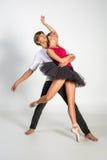 Härliga balettpar Arkivbild