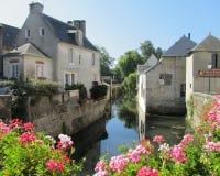 Härliga Bayeux arkivbilder