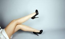 härliga ben arkivbild