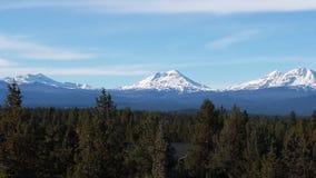 härliga berg Fotografering för Bildbyråer