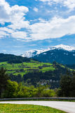 härliga berg Royaltyfria Bilder