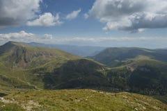 Härliga berg av Merano, Italien Arkivfoton
