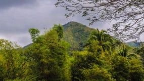 Härliga berg i Filippinerna fotografering för bildbyråer