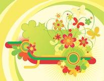 härliga blommaillustrationer Royaltyfria Foton