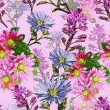 härliga blommor för höst vektor illustrationer