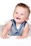 härliga blonda blåa ögon för babe royaltyfria bilder